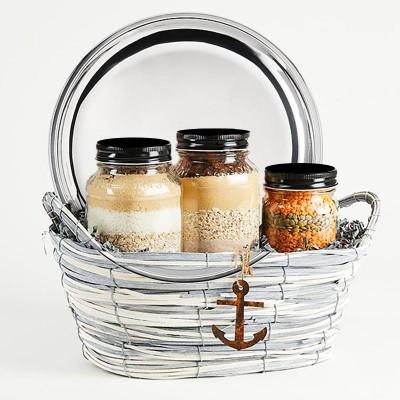 The Nautical gift basket